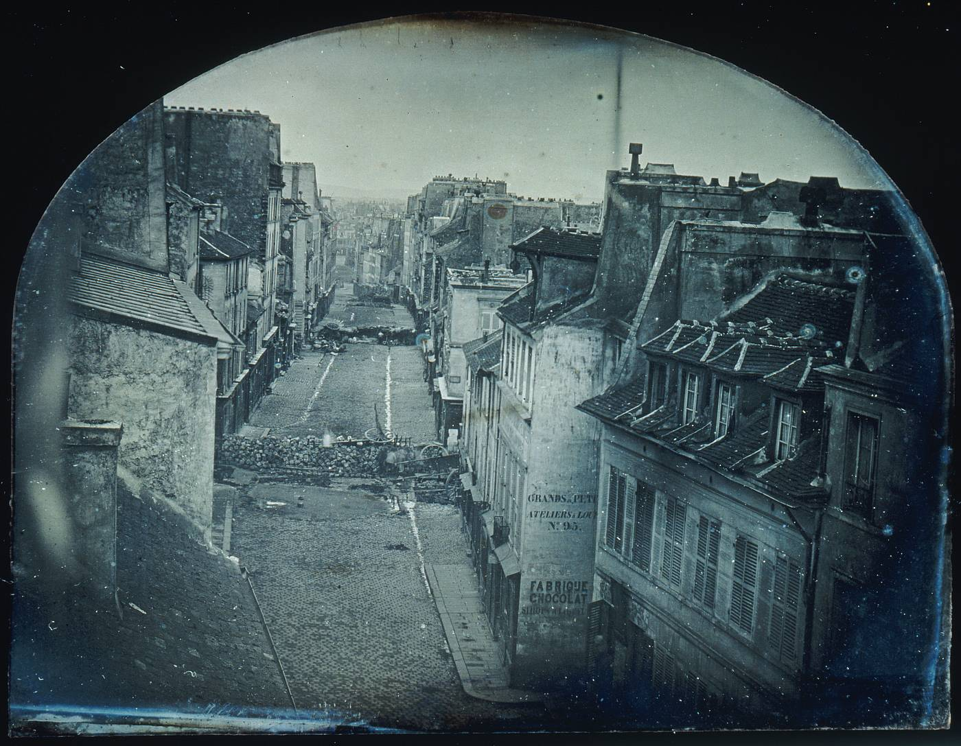 Barricade - Paris 1848