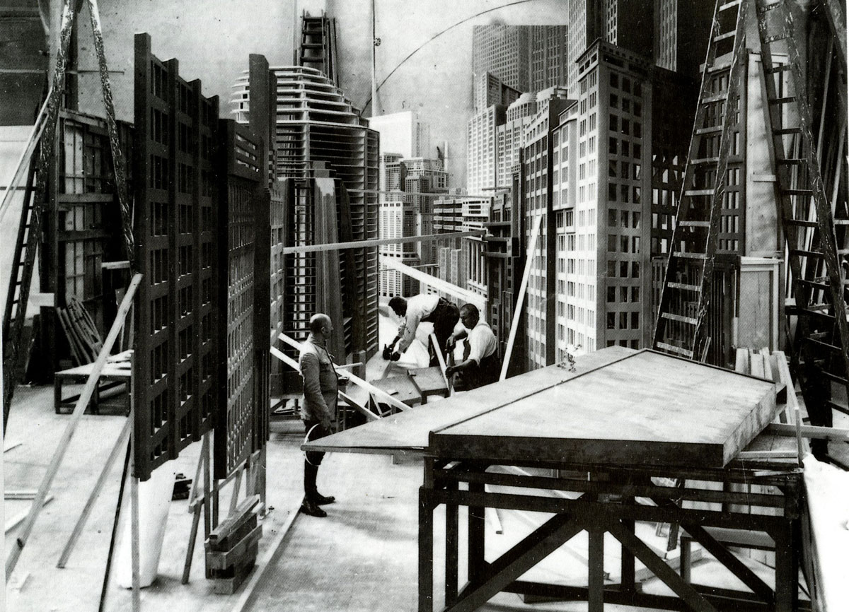 film architecture from metropolis to blade runner the
