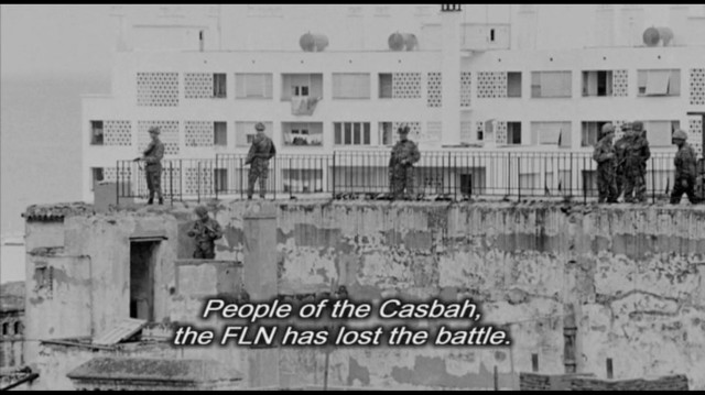 # HISTORY /// The battle of Algiers by Gille Pontecorvo / Urban guerilla's theory by Auguste Blanqui