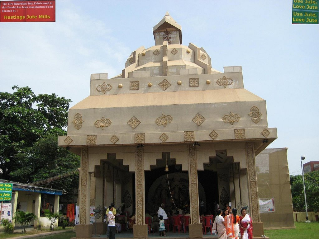 Architectures without architects durga pujas pandals the architectures without architects durga pujas pandals altavistaventures Image collections