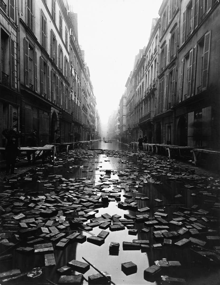 history paris u0027 1910 great flood the funambulist magazine