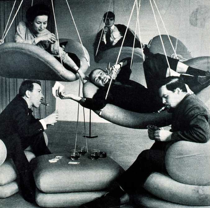 INDUSTRIAL DESIGN /// Verner Panton - THE FUNAMBULIST MAGAZINE