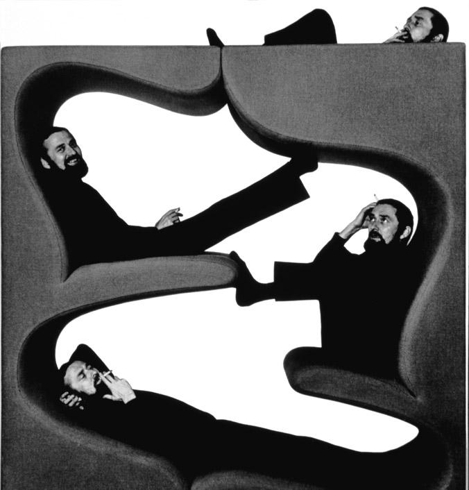 industrial design verner panton 39 s way of sitting. Black Bedroom Furniture Sets. Home Design Ideas