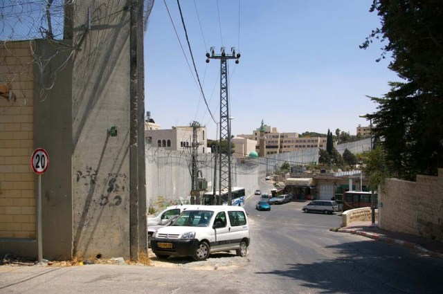 Wall in East Jerusalem - photo by Leopold Lambert (2010)