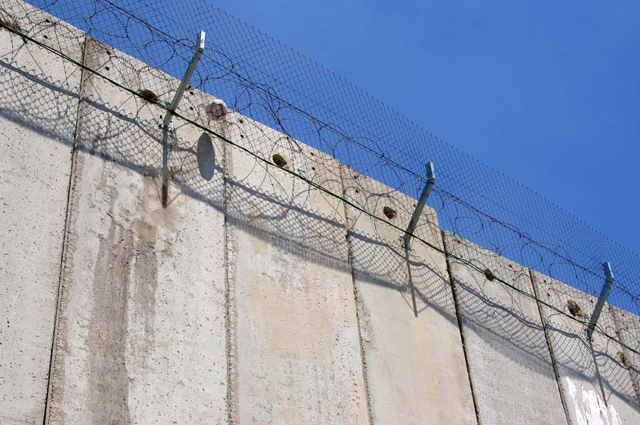 Wall in East Jerusalem - photo by Leopold Lambert (2011)