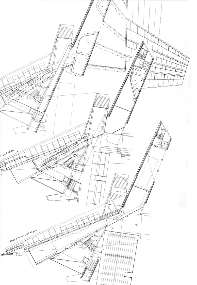 Maps the architectural plan as a map drawings by for Architecture design blueprint