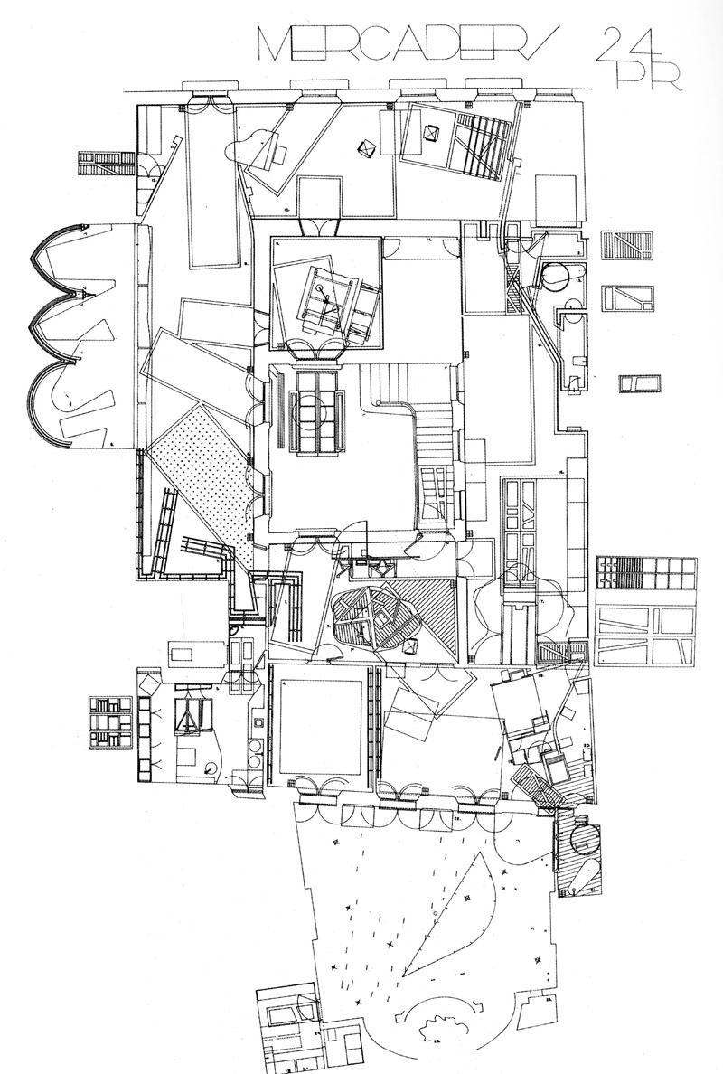 Maps the architectural plan as a map drawings by for Architecture plan