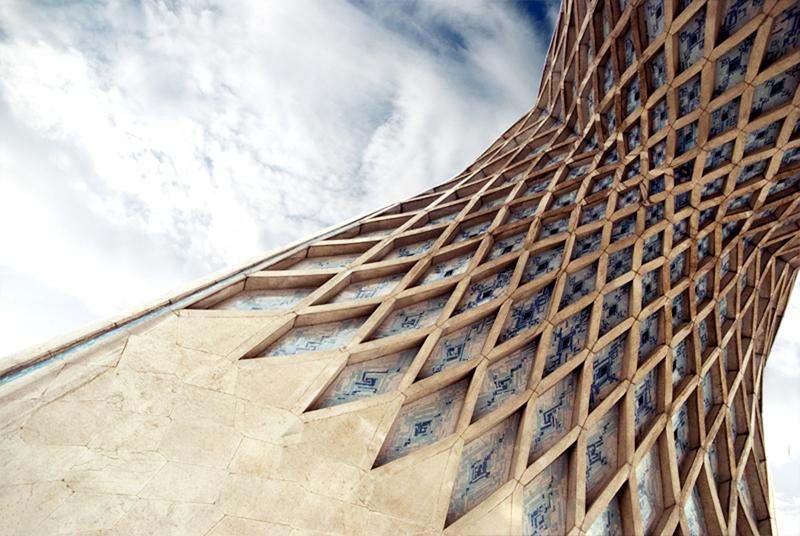undolding Azadi Tower_1
