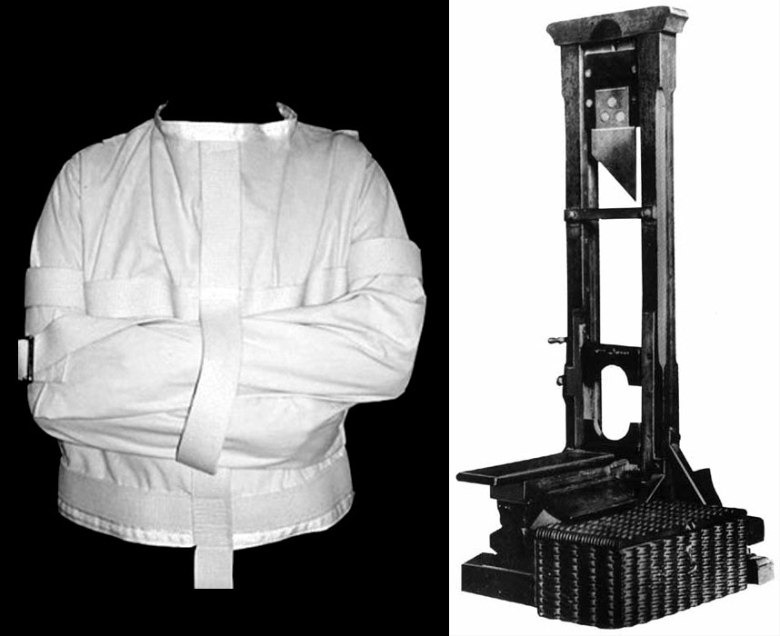 HISTORY /// Cruel Designs: The Straightjacket & The Guillotine ...