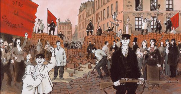 Image result for paris commune