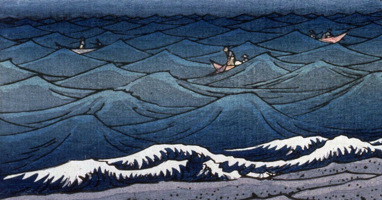 Hiroshige - Hamamatsu (1851)