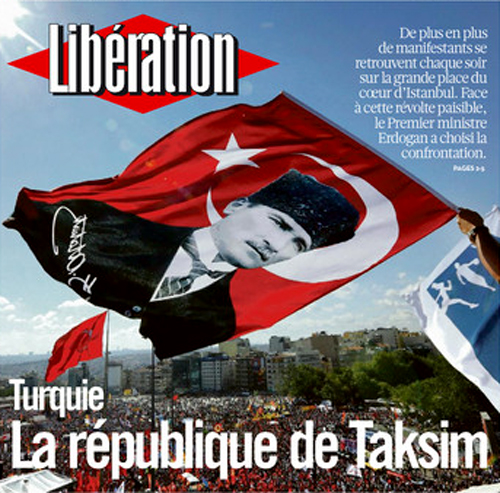 liberation republique de taksim