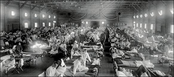 Crowded hospital