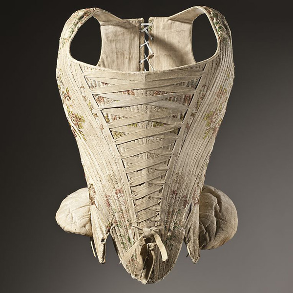 765px-Woman's_corset_figured_silk_1730-1740