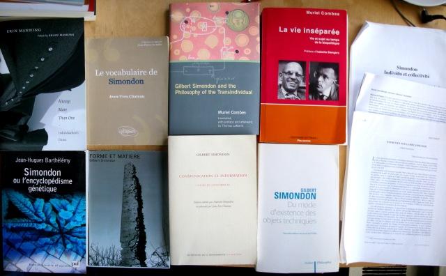 Gilbert Simondon books - leopold lambert