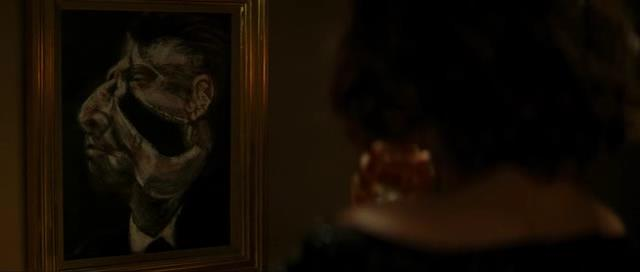 Francis Bacon in Inception (foreground)