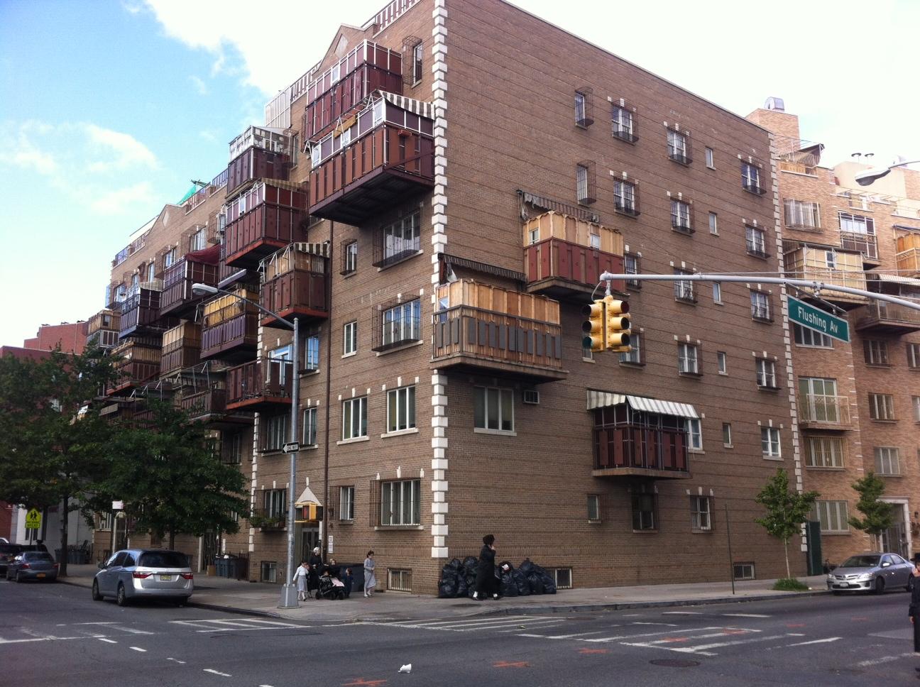 Bed Stuy Jewish Orthodox Building