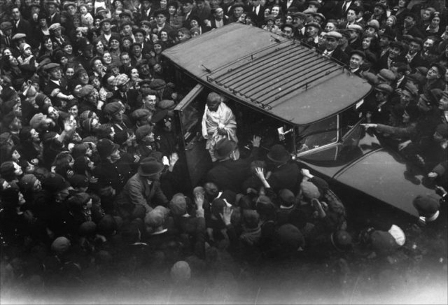Gandhi in London 1931