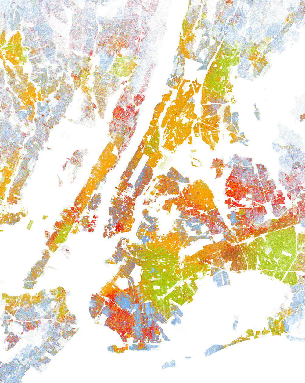 New York Racial Dot Map