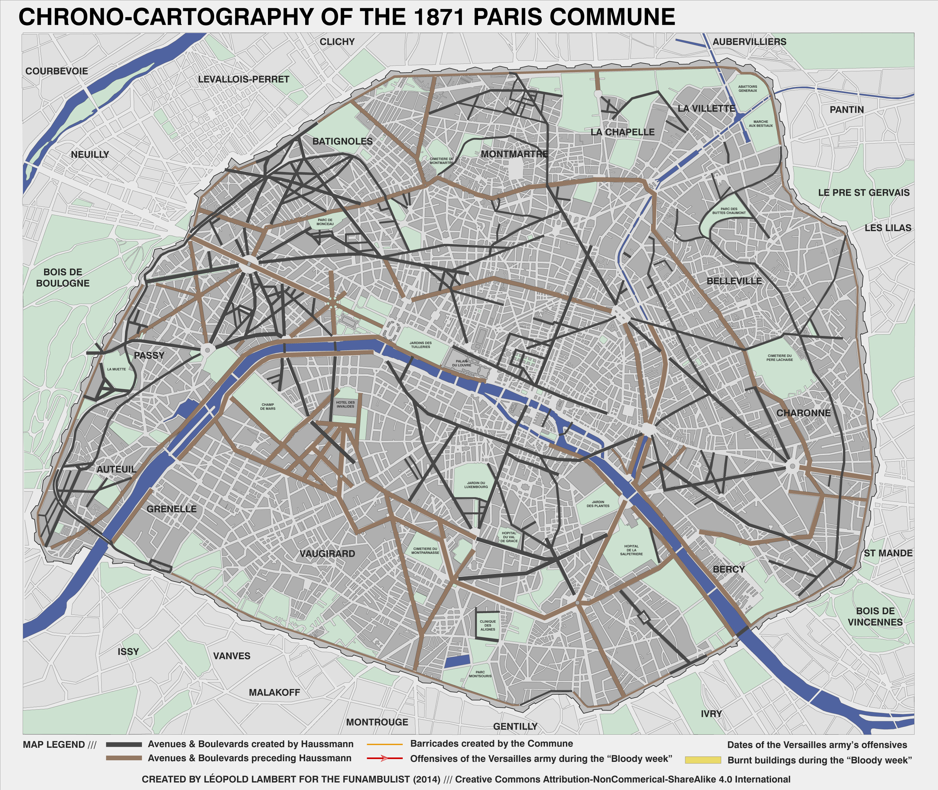 01-Map Paris Commune 1871 (boulevards)