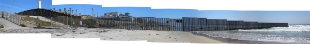 US-Mexico Border Panorama 2 by Leopold Lambert