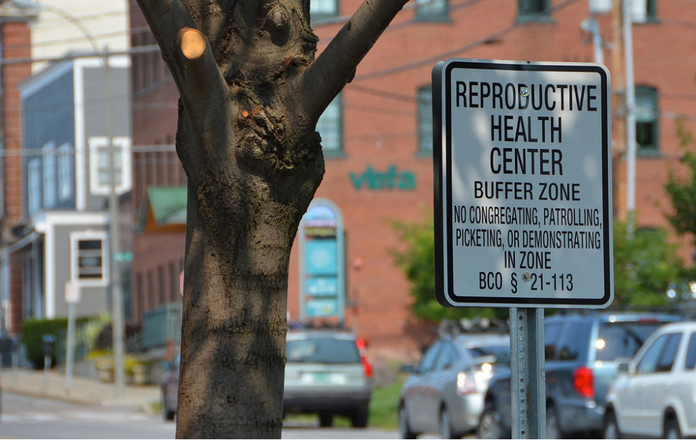 Abortion clinic buffer zone1
