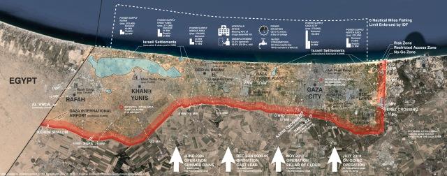 Map Gaza