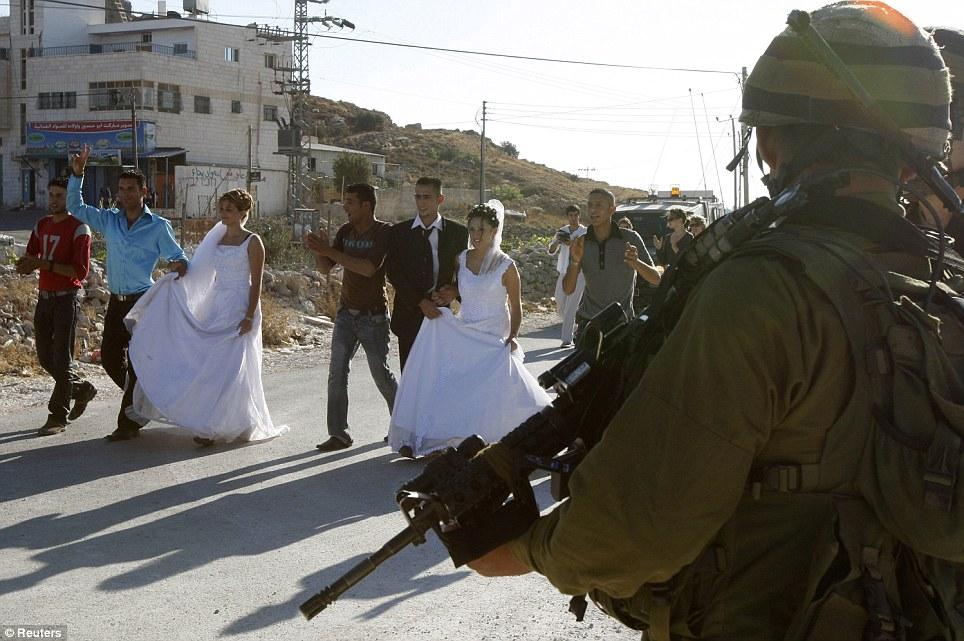 West Bank wedding