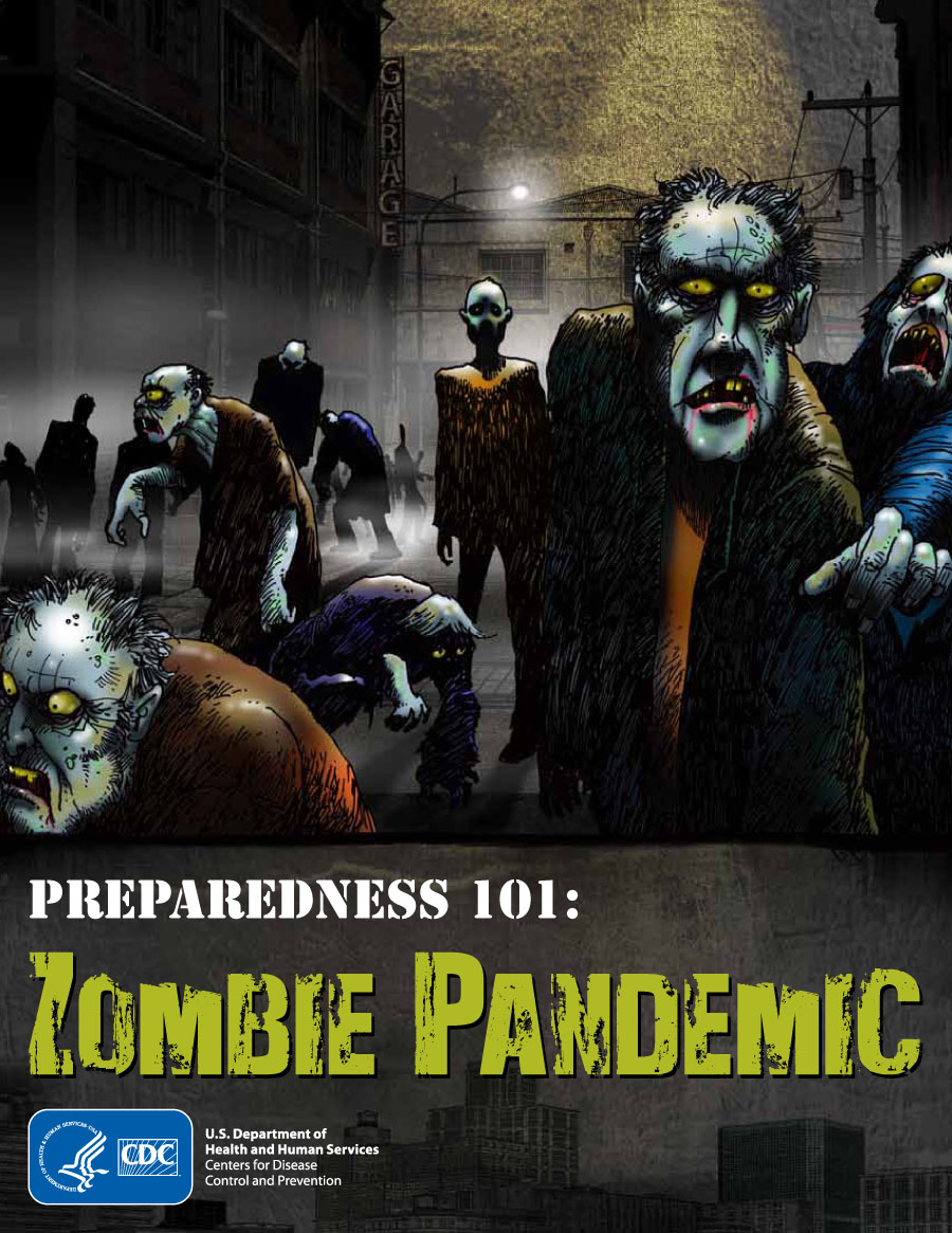 Centers for Disease Control and Prevention Comic Zombies-1