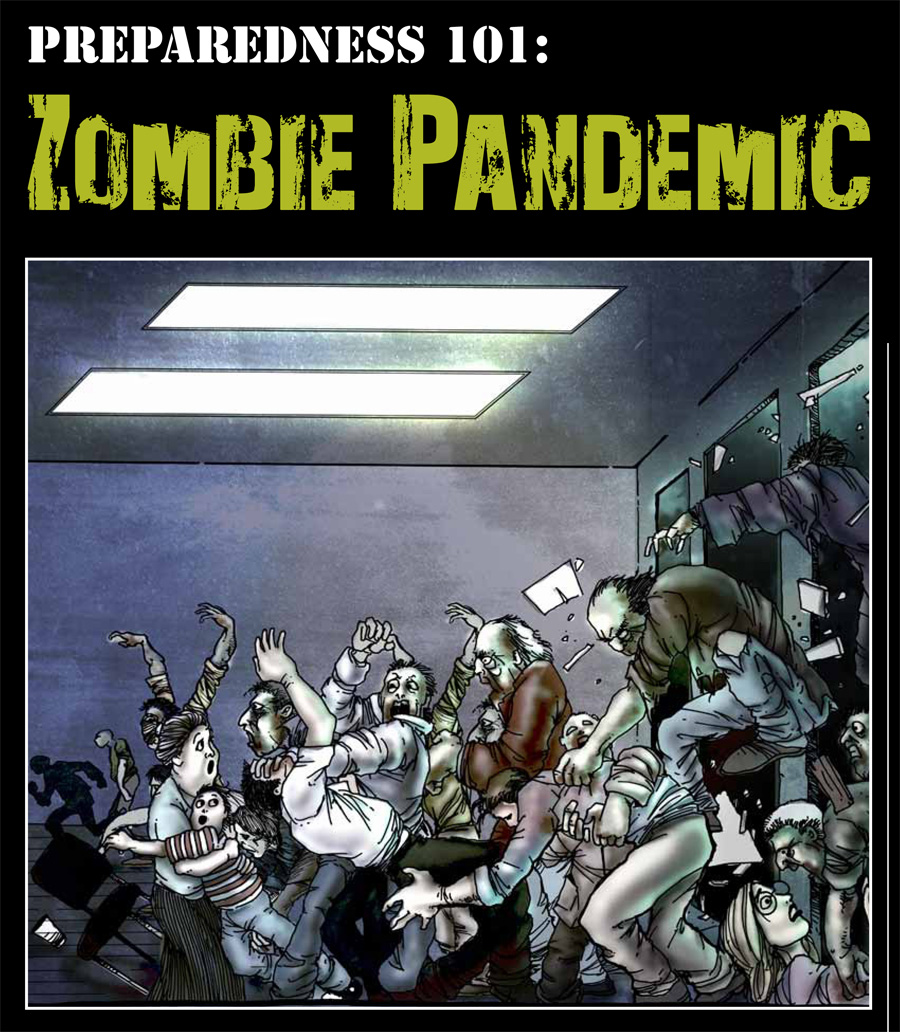 Centers for Disease Control and Prevention Comic Zombies