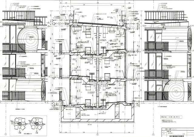 Mitaka Lofts Drawing 02 - The Funambulist