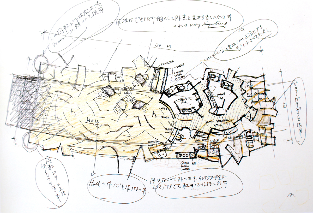 Yoro Park Drawing 03 - The Funambulist