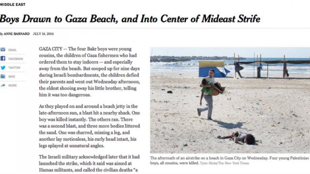 NYTimes Gaza