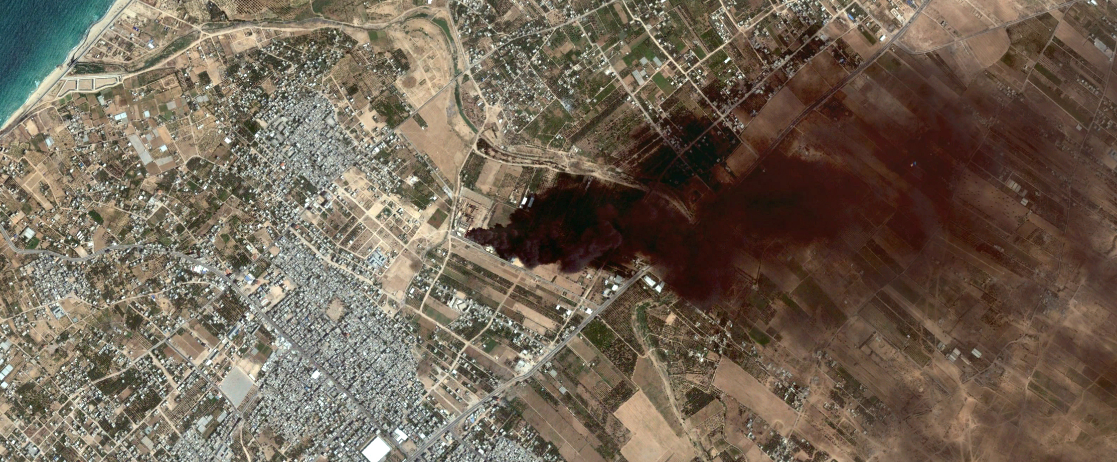 2014_0729 Gaza - Google Earth